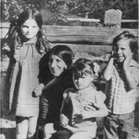 Photo - Karen Silkwood with her children, from left, Beverly, Dawn and Michael. Karen Silkwood was a  Kerr McGee employee that worked at the plutonium plant near Cresent and the Cimmaron River.