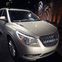 Photo - FILE - This April 3, 2012 file photo shows the 2013 Buick Enclave as it is unveiled at a news conference ahead of the New York International Car Show, in New York. General Motors on Tuesday, May 20, 2014 announced the recall of 2.4 million vehicles in the U.S., including the 2013 Enclave and other full-size crossovers from the 2009-2014 model years, as part of a broader effort to resolve outstanding safety issues more quickly. (AP Photo/Mary Altaffer, File)