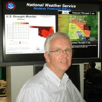 Photo - Rick Smith, warning coordination meteorologist of the National Weather Service, Norman Forecast Office.   Bryan Painter - Staff Writer