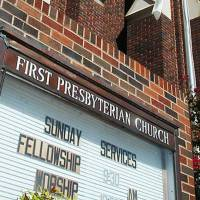 Photo - In this Oct. 16, 2011 photo,  the First Presbyterian Church in Enid, Okla is seen. Members of First Presbyterian Church of Enid voted 131-69 to leave Presbyterian Church U.S.A. during a vote immediately after morning worship Sunday, Oct. 16. (AP Photo/Enid News & Eagle, Billy Hefton)