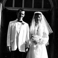 Photo - Ginny and Bob Wynn on their wedding day in May 1959. Photo provided by Ginny Wynn.