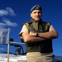 Photo - Canadian Sen. Romeo Dallaire, a retired lieutenant general in the Canadian Army, will be honored with the 2014 Reflections of Hope Award in Oklahoma City. Photo provided  Photo Provided