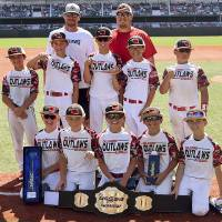 Youth baseball team wins series