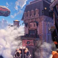 Photo - This undated publicity photo provided by 2K Games/Irrational Games shows  a scene from the video game,