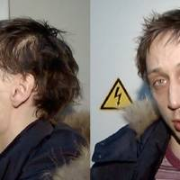 Photo - In this combo frame grab taken from video supplied by the Moscow Interior MInistry branch website on Wednesday, March 6, 2013, 29-year-old Pavel Dmitrichenko, the star Russian ballet dancer is seen in Moscow. Dmitrichenko, who most recently played the title role in