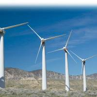 Photo - Windmills are shown in western Oklahoma. Clean Line is trying to get regulatory approval to build a direct transmission line that would take power from wind farms in Oklahoma to the Tennessee Valley Authority. PHOTO PROVIDED