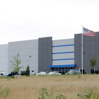 Photo -  Dallas-based Sealy & Co. paid $17 million for the 280,000-square-foot warehouse distribution center leased by ShurTech Brands, maker of Duct Tape, at 8301 N Interstate 35. Richard Tanenbaum, developer of the facility on the west side of I-35 south of Britton Road, is building a 125,000-square-foot speculative warehouse a mile north at I-35 and Hefner Road, where he built ShurTech's first center here in 2000. PHOTO BY PAUL B. SOUTHERLAND   PAUL B. SOUTHERLAND
