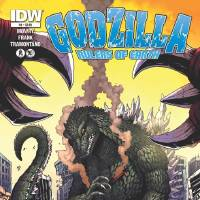 """Photo - """"Godzilla: Rulers of Earth"""" issue No. 4, cover by Matt Frank.  IDW Publishing"""