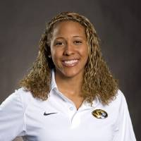 Photo - In this 2010 photo provided by the University of Missouri Athletic Department is Sasha Menu Courey. The Canadian family of former University of Missouri school swimmer says the school and its athletics department failed to properly investigate her alleged off-campus rape by as many as three football players in 2010. Menu Courey struggled with mental illness and committed suicide 16 months later. (AP Photo/University of Missouri Athletic Department)