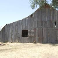 Photo - The Acre Family Barn near Canton in Blaine County recently was listed on the National Register of Historic Places. The structure dates to about 1916.  PHOTO PROVIDED BY STATE HISTORIC PRESERVATION OFFICE