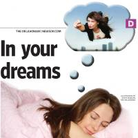 Photo - In your dreams GRAPHIC with photo 1) of woman dreaming 2) she's flying in her dream image (photos unavailable) ILLUSTRATION BY STEVE BOALDIN, THE OKLAHOMAN