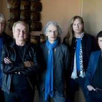 Photo - Yes, from left: Chris Squire, Alan White, Steve Howe, Oliver Wakeman, Benoit David. PHOTO BY ROBERT KNIGHT
