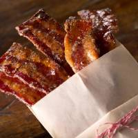 Photo -  Candied bacon makes a tasty part of a Mother's Day brunch. Photo provided