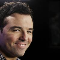 Photo - In this Saturday, Oct. 1, 2011 photo, Seth MacFarlane poses for a portrait in Los Angeles. Fox, facing the ebbing ratings power of