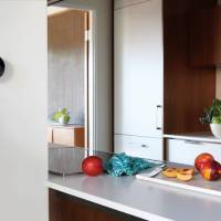 Photo - The Nest thermostat can fit with the design of any home. PHOTO PROVIDED.