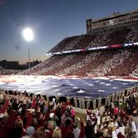 Photo -  Gaylord Family-Oklahoma Memorial Stadium on the campus of the University of Oklahoma could undergo significant renovations in the coming years. PHOTO BY STEVE SISNEY, The Oklahoman   STEVE SISNEY -
