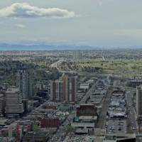 Photo -  A view from the Calgary Tower