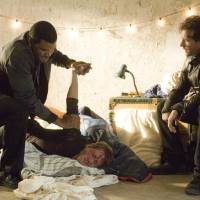 Photo - Edward Burns, right, and Tyler Perry in a scene from
