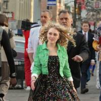 """Photo -  The Carrie Diaries -- """"Pilot"""" -- Pictured: AnnaSophia Robb as Carrie Bradshaw -- Photo: Giovanni Rufino/The CW --  © 2012 The CW Network, LLC. All rights reserved."""