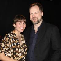 "Photo -  Reduxion Theatre Managing Director Erin Woods, left, and Artistic Director Tyler Woods appear at the opening for the company's 2012 production ""Richard III.""  Photo provided"
