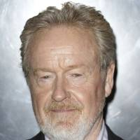 Photo -  Sir Ridley Scott arrives at a central London cinema for the World Premiere of Prometheus, Thursday, May 31, 2012. (AP Photo/Joel Ryan)