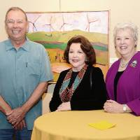 Photo - Jim Keffer, Betty Crow, Judy Kelley. Photo by David Faytinger, for The Oklahoman