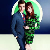 Photo - From Banana Republic's Mad Men spring 2013 collection, this promotional shot features some of the collection's mod, '60s style designs. Photo provided.