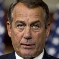 Photo - FILE – In this Feb. 6, 2013, file photo House Speaker John Boehner, R-Ohio, repeats his call for President Obama to submit a budget proposal to Congress during a news conference at the Capitol in Washington, the day after President Barack Obama urged Congress on to pass targeted short-term spending cuts and higher taxes as a way to put off sweeping, automatic cuts that would slice deeply into military and domestic programs starting March 1. (AP Photo/J. Scott Applewhite, File)