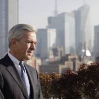 Photo - In this Monday, Dec. 3, 2012, photo, John Stumpf, Chairman, President and CEO of Wells Fargo, talks during an interview, in New York. Stumph, one of the few CEOs who kept his job as peers fell after the 2008 financial crisis, is a strategist who expanded his company while others shrank theirs. Stumph says Wells Fargo's vanilla business model of making loans and taking deposits has kept it above the fray while exotic derivatives and other risky practices have bludgeoned rivals. (AP Photo/Mark Lennihan)