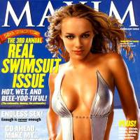 Photo - Amanda Marcum-Enfield's MAXIM cover.
