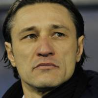Photo - FILE - In this Nov. 19, 2013, file photo, Croatia's head coach Niko Kovac looks on at the beginning of a World Cup qualifying playoff second leg soccer match against Iceland in Zagreb, Croatia. Kovak already knows it wonít be at full strength for the difficult opener against Brazil. (AP Photo/Darko Bandic,File)