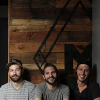 Photo - Cody Rowan, John Harris, and Joey Morris recently opened The Mule in the Plaza District of Oklahoma City.  Garett Fisbeck - THE OKLAHOMAN