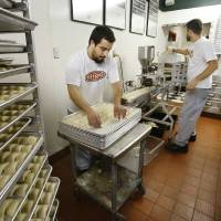 Photo - Raviolis are made in house every Thursday at Pete's Place in Krebs. PHOTO BY JIM BECKEL, THE OKLAHOMAN  Jim Beckel - THE OKLAHOMAN