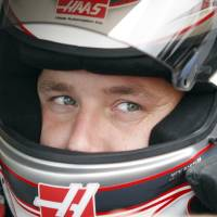 Photo -   Driver Ryan Newman looks out from his car during practice for Sunday's NASCAR Sylvania 300 auto race at New Hampshire Motor Speedway, Friday, Sept. 23, 2011, in Loudon, N.H. (AP Photo/Mary Schwalm)