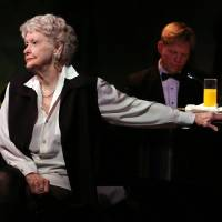 Photo - FILE - This April 2, 2013 file image released by the O+M Company shows Elaine Stritch performing her final engagement at the Cafe Carlyle in New York with Rob Bowman at the piano. Stritch died Thursday, July 17, 2014 at her home in Birmingham, Mich. She was 89. (AP Photo/The O+M Company, Walter McBride, File)