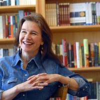 Photo - FILE - In this Friday, May 16, 2008, file photo, author Louise Erdrich reflects on growing up in North Dakota and her new book