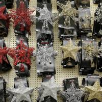 Photo - Tree toppers on display at Hobby Lobby in  Edmond.
