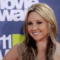Photo - FILE - In this June 5, 2011 file photo, Amanda Bynes arrives at the MTV Movie Awards, in Los Angeles. Bynes is due in court Tuesday July 9, 2013 on allegations that she tossed a marijuana bong from the window of her 36th floor Manhattan apartment. The 27-year-old actress is charged with reckless endangerment and attempted tampering with physical evidence. (AP Photo/Chris Pizzello, File)