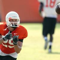 Photo - OSU will try to get the ball to Josh Cooper in different situations. Photo by John Clanton, The Oklahoman
