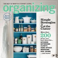 Photo - On stands now: Martha Stewart Living?s new Organizing issue gives room-by-room advice and visuals to help you get not just organized ? but beautifully organized. Photo courtesy of Eric Piasecki for The Best of Martha Stewart Living Organizing.
