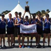 The Oklahoma City University men's varsity eight rowing crew achieved a historic milestone for the program last weekend, qualifying for its first Intercollegiate Rowing Championship Regatta. PHOTO COURTESY OF OCU.