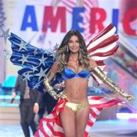 Photo - This Nov. 7, 2012 photo released by Starpix shows model Lily Aldridge during The 2012 Victoria's Secret Fashion Show in New York. The California native has been a Victoria's Secret model since 2009, has walked the runway for Rag & Bone and Giles Deacon and appeared in ads for Coach, Clinque and Anthropologie. (AP Photo/Starpix, Amanda Schwab)