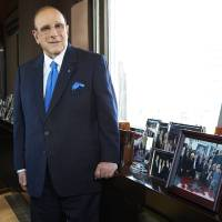 Photo - This Feb. 18, 2013 photo shows  Sony Music Entertainment's Chief Creative Officer of and famous hitmaker Clive Davis posing for a portrait in New York. Davis' releases his memoir