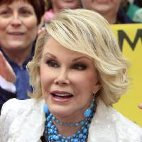 """Photo -  Joan Rivers, winner of  Donald Trump's """"Celebrity Apprentice"""" show, appears on the NBC """"Today"""" television program in New York's Rockefeller Center Monday, May 11, 2009.  (AP Photo/Richard Drew) ORG XMIT: NYRD114"""