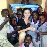 "Photo -  Mary Margaret ""Mimi"" Bilyeu went on an Africa mission trip in March 2014. PHOTO PROVIDED      -"