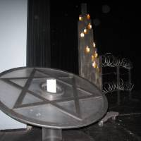 Photo - A candle lighting ceremony was part of the 2013 Holocaust Remembrance Program Sunday at Bethany High School. Photo by Carla Hinton