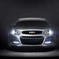 Photo - This undated photo provided by Chevrolet shows the 2014 Chevrolet SS performance sedan. It is the company's first rear wheel drive performance sedan in 17 years. The SS will also be Chevrolet's racing car entry in the 2013 NASCAR Sprint Cup series. (AP Photo/Chevrolet)