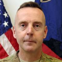 Photo - FILE - This undated file photo provided by the U.S. Army shows Brig. Gen. Jeffrey Sinclair. Sinclair is set to enter a plea when he is arraigned on a series of sexual misconduct charges Tuesday, Jan. 22, 2013 before a military judge at Fort Bragg, N.C. At an evidentiary hearing in November, prosecutors presented testimony involving Sinclair's conduct with five women who were not his wife, including officers who served under his command. (AP Photo/U.S. Army, File)