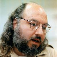 Photo - FILE - This May 15, 1998 file photo shows Jonathan Pollard speaking during an interview in a conference room at the Federal Correction Institution in Butner, N.C. An AP source says: the US is talking with Israel about early release of Pollard for concessions. (AP Photo/Karl DeBlaker, File)