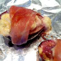 Photo - Prosciutto-wrapped figs stuffed with gorgonzola cheese make a decadent appetizer. PHOTO BY SHERREL JONES, THE OKLAHOMAN  SHERREL JONES - THE OKLAHOMAN